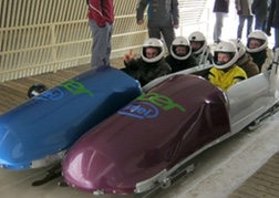 Stag Group ready to Bobsleigh in Riga