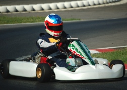 White Outdoor Kart