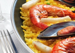 Dish of Paella in Valencia