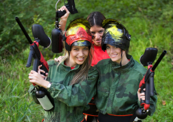 Paintball hen party