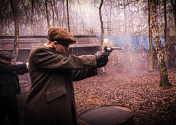 Peaky Blinders Themed Activity Pesky Pistol Stag Do