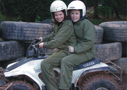 Ladies on a Quad Bike