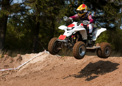 Quad Biking Mid Air
