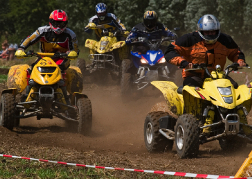 Quad Bike Group Racing