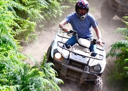 Stag Quad Biking