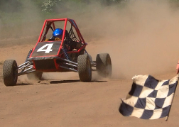 Rage Buggy Racing To The Chequered Flag