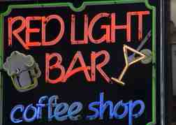 Red Light Bar Sign