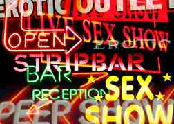 Sex Show Signs