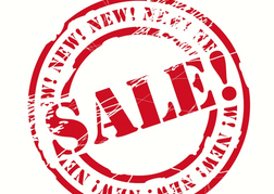 Sale Now On Sign