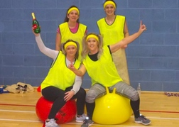 School Sports Day Hens