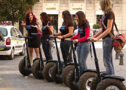 Hen Party on Segways
