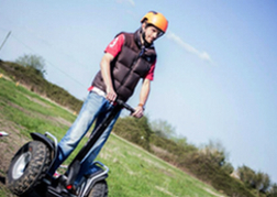 Segway being ridden