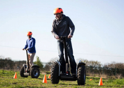 Stag Party Racing Segways