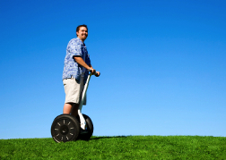 Man On A Segway