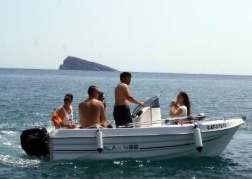 Speedboat in Benidorm
