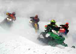 Snowmobile Trekking