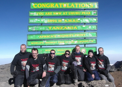 Stag Do on Mount Kilimanjaro