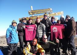 Stag Group on Mount Kilimanjaro