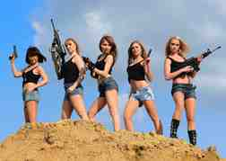 Ladies with guns