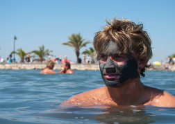 Face Mask on a man from a stag party