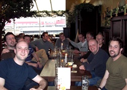 Stag Party at a restaurant in Berlin
