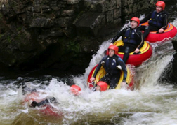 stag party White Water Tubing