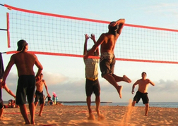 Beach Games Volleyball