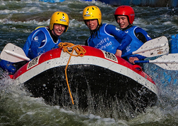 White Water Rafting in Cardiff