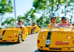 Little yellow car tour Barcelona