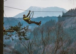 Zip Safari in North Wales