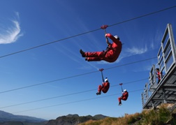 Titan Zip Wire North Wales