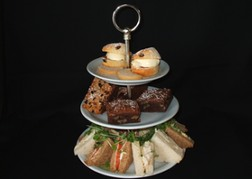 Afternoon Tea Cake & Sandwich Stand