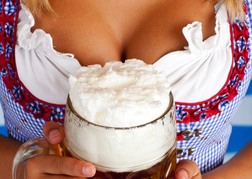 Frothy Beer & Boobs