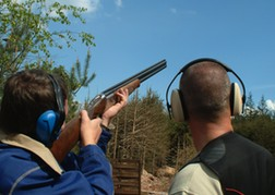 Stags Clay Pigeon Shooting