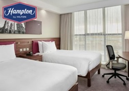 Twin Bedroom at the Hampton by Hilton Bristol