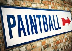 Paintball Sign