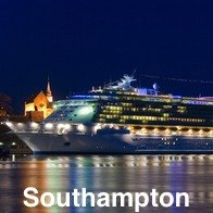 Cruise Ship Leaving Southampton