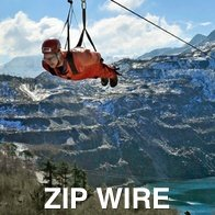 Velocity Zip Wire in Snowdonia