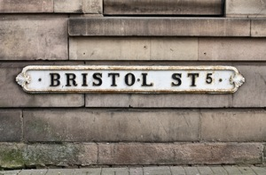Bristol Street Sign