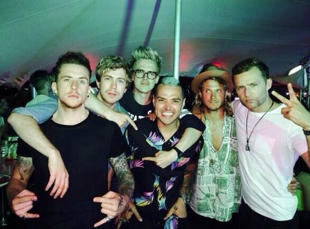 McBusted Stag Do Picture