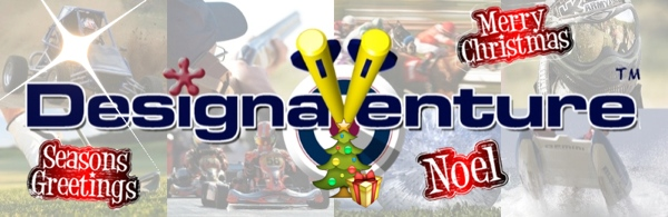 DesignaVenture Logo Christmas'd up