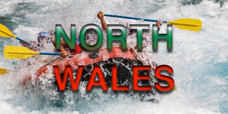 White Water Rafting with North Wales wording