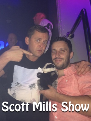 Seth & Will with Scott Mills