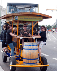 Berlin Beer Bike For a stag do