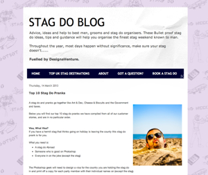 Image of The Stag Do Blog