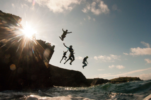 Cliff Jumping / Coasteering in Newquay