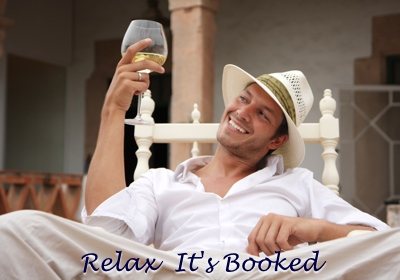 Man Drinking Wine After Booking Stag Do